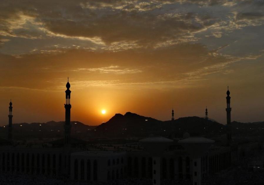 Minarets on the horizon.