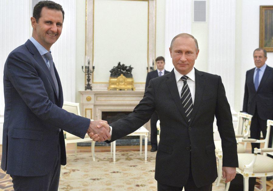 Putin and Assad