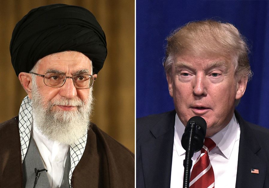 Trump and Khamenei