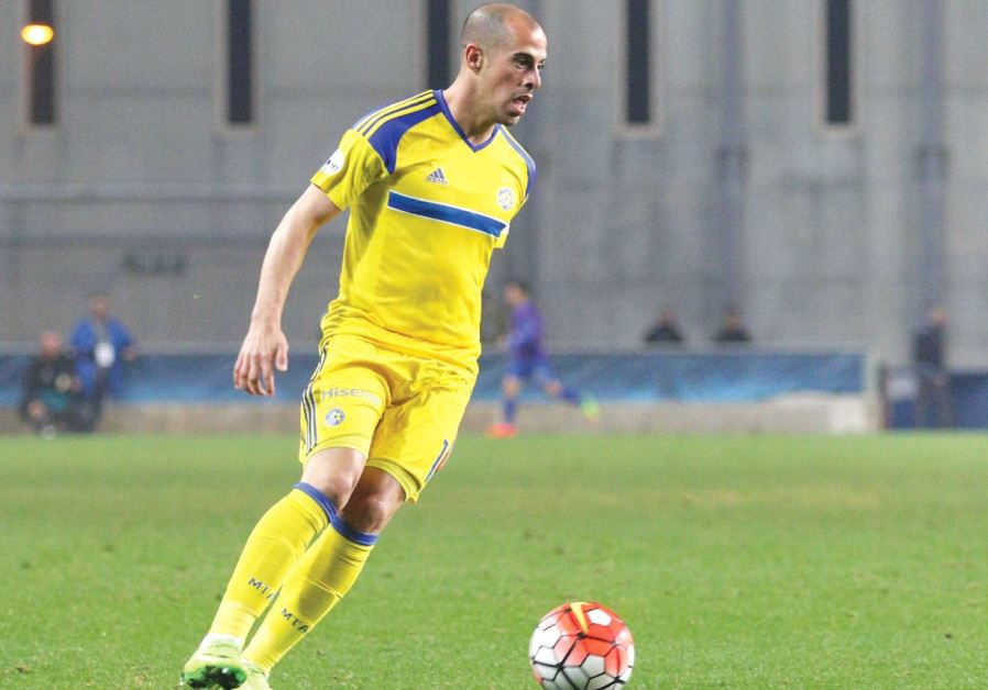 Maccabi Tel Aviv winger Tal Ben-Haim scored the only goal of last night's 1-0 win over Maccabi Petah