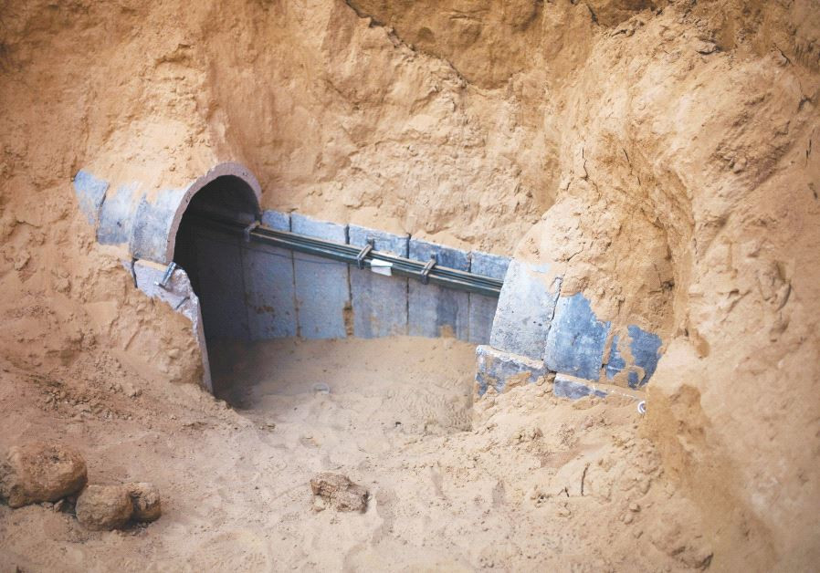 TUNNELS FROM Gaza are a threat but the government's tunnel vision also needs to be corrected.