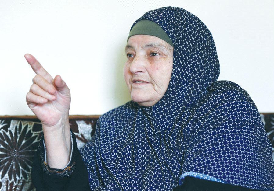 KAMLEH DAQAMSEH, mother of the Jordanian soldier convicted of killing seven Israeli schoolgirls in M
