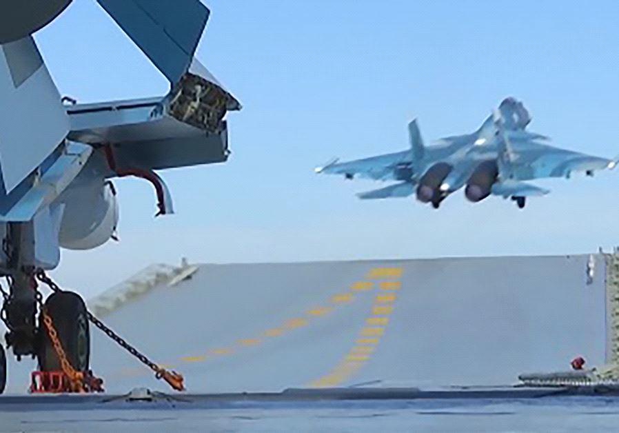 Admiral Kuznetsov in Syria