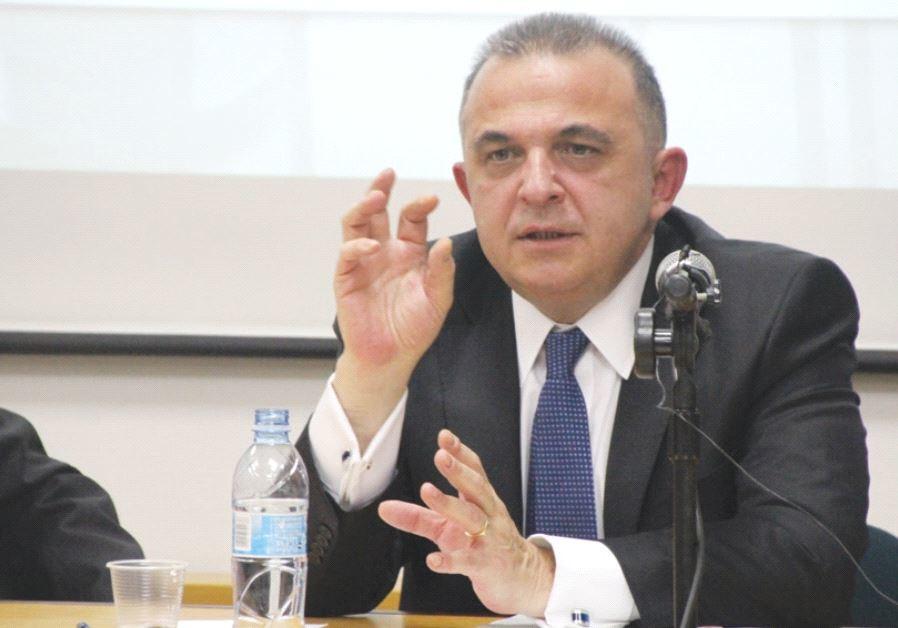 TURKISH AMBASSADOR to Israel Kemal Okem