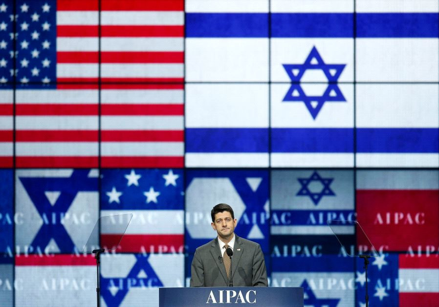 Speaker of the House Paul Ryan (R-WI) speaks to the American Israel Public Affairs Committee (AIPAC)