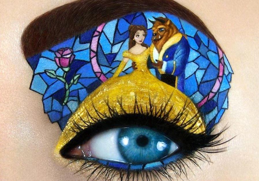 Israeli makeup artist Tal Peleg's unique creation.
