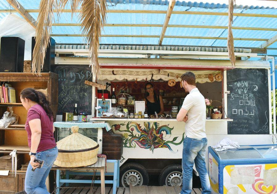 Dana Kfir's bakery in Givat Yeshayahu