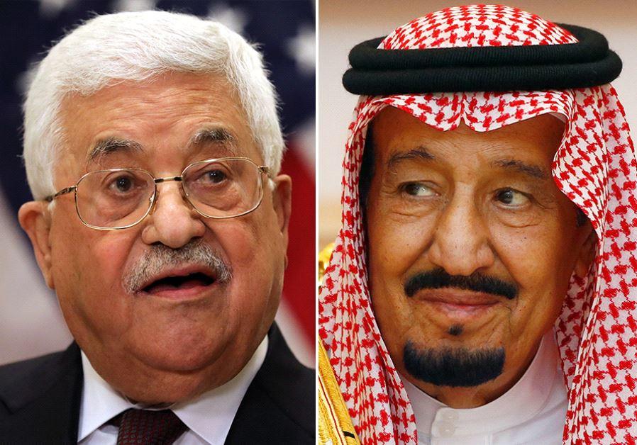 King Salman and Abbas