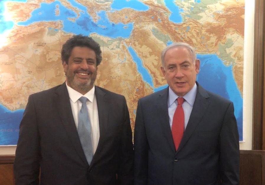 Meyer Habib Benjamin Netanyahu