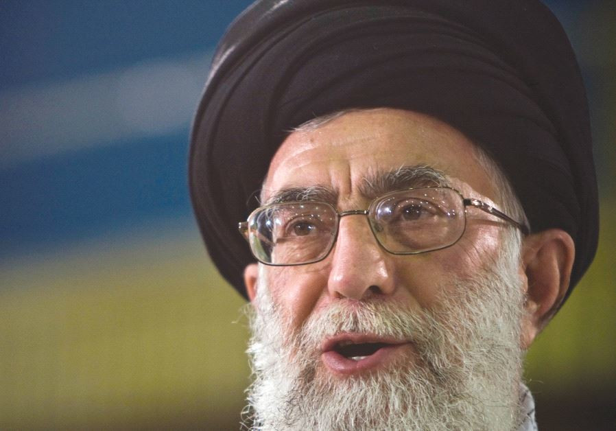 IRAN'S SUPREME LEADER Ayatollah Ali Khamenei. The West needs to be careful not to let Iran gain from