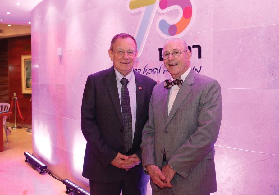 Prof. Rafael Beyar and Prof. Jeffrey Drazen