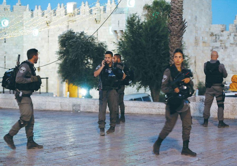 Boder Police Jerusalem's Damascus Gate St.-Sgt.-Maj. Hadas Malka