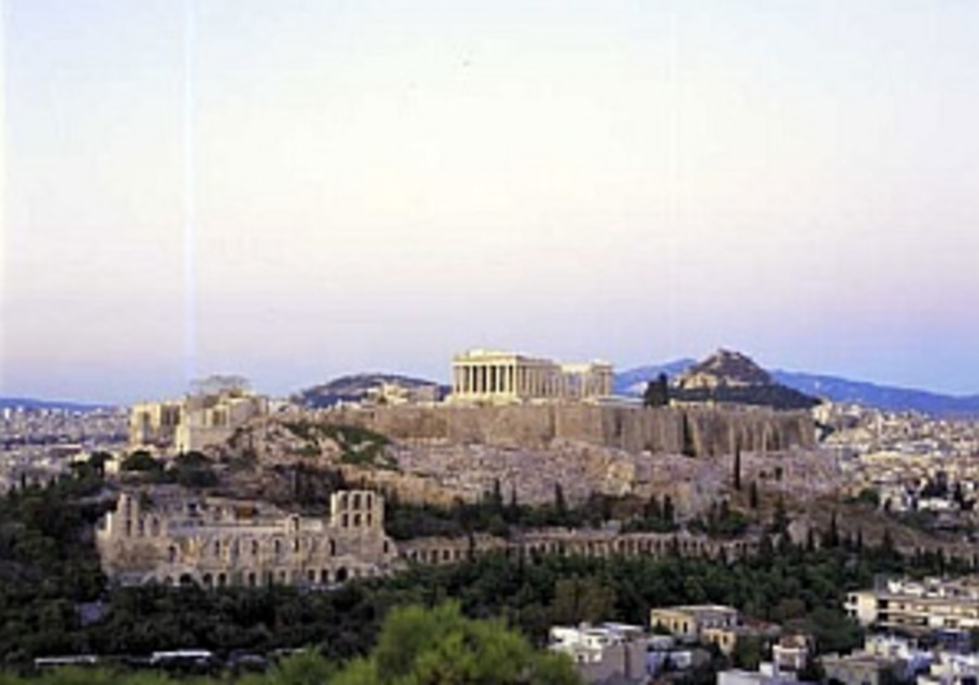 Walk in Athens and inhale the past!