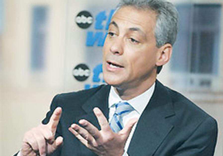 Emanuel to rabbis: US 'screwed up'