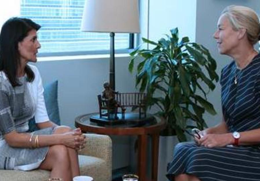 Nikki Haley Discusses Hezbollah Threat with UN Special Coordination
