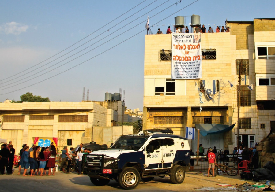 Home in Hebron illegally occupied by 15 settler families