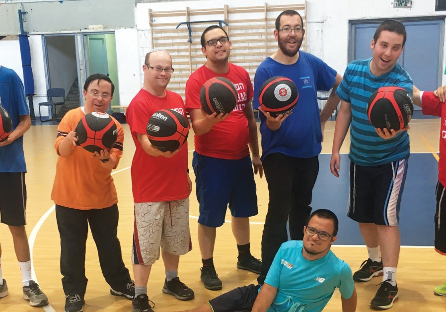 Inspiring Hapoel Jerusalem program a ball for Yachad kids