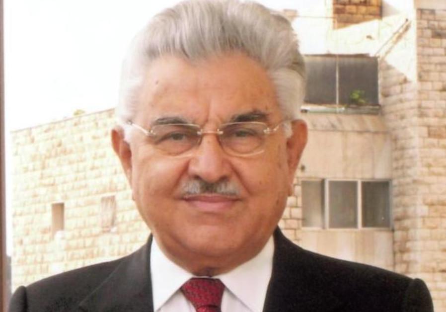 Israeli politician and former justice minister Moshe Nissim