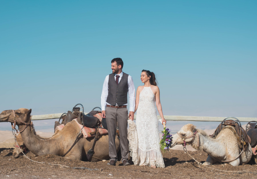 Unique outdoor weddings are a hit among Israeli lovebirds