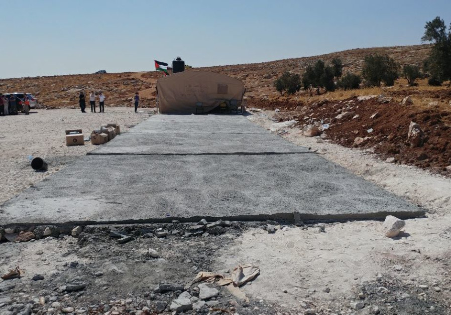 IDF destroys two illegal EU-funded Palestinian schools