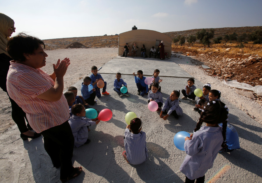 EU demands Israel rebuild illegal Palestinian school structures