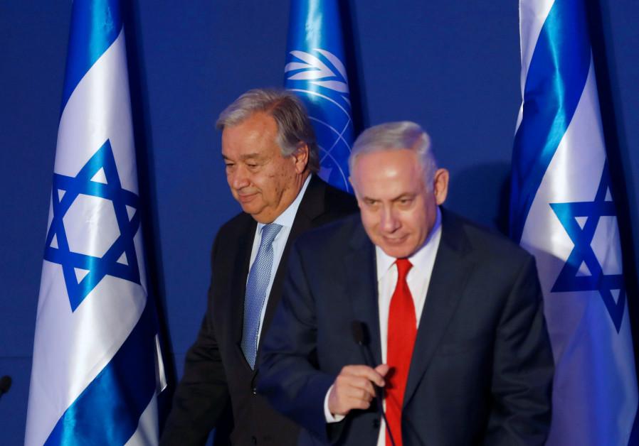 Netanyahu to UN chief: We won't let Iran surround us
