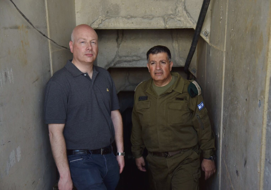 Greenblatt visits Gaza border, reaffirms United States support for Palestinian Authority