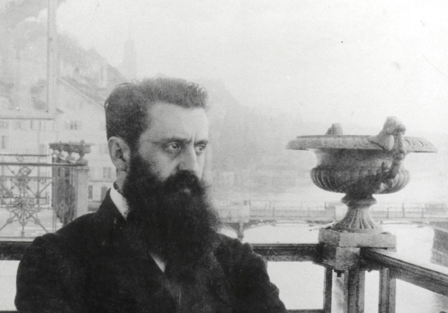 Theodor Herzl: 'It felt as if the great dream of our nation, of 2,000 years.'