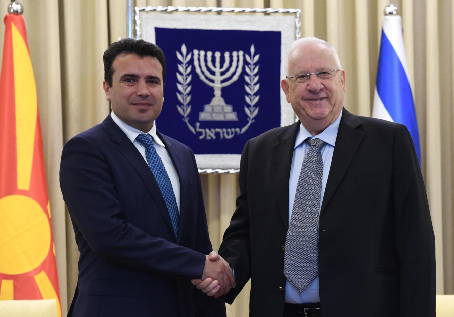 Triumphant visit to Israel for Macedonian PM Zoran Zaev