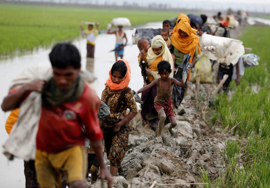 The Rohingya pogrom