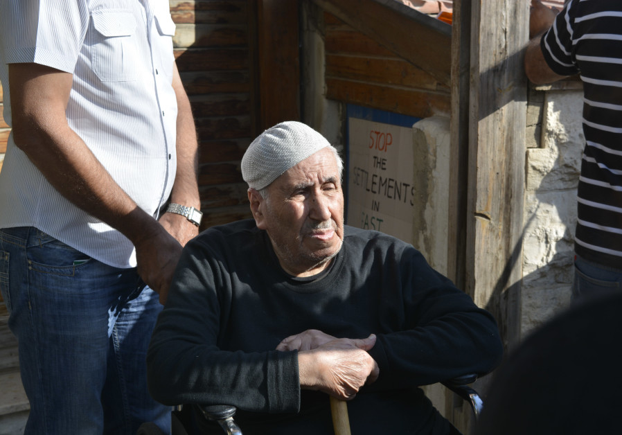 Member of the Shamsaneh family, who were evicted from their home in Sheikh Jarrah. (September 5, 201