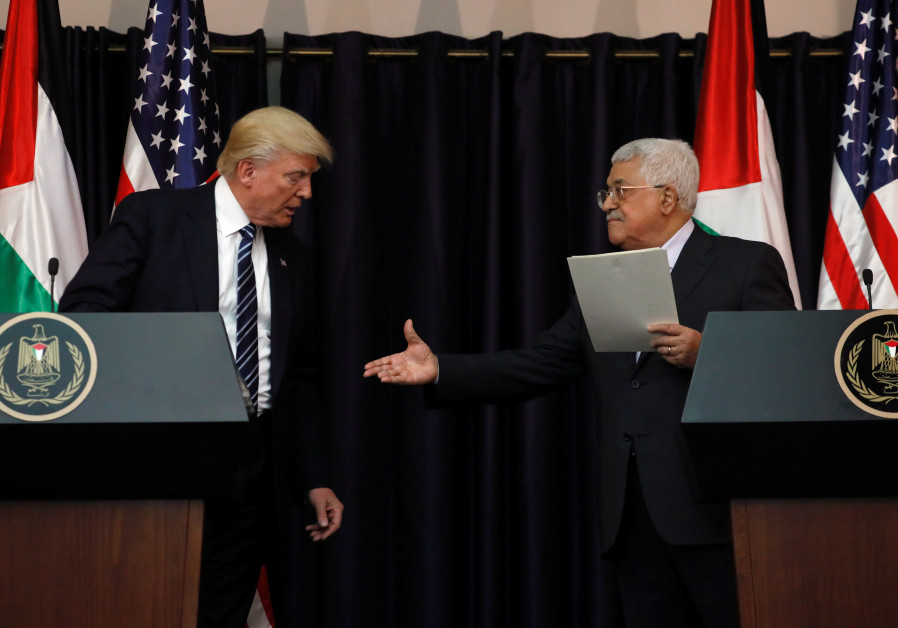 Majority of Palestinians don't believe Trump is serious about peace talks, poll finds