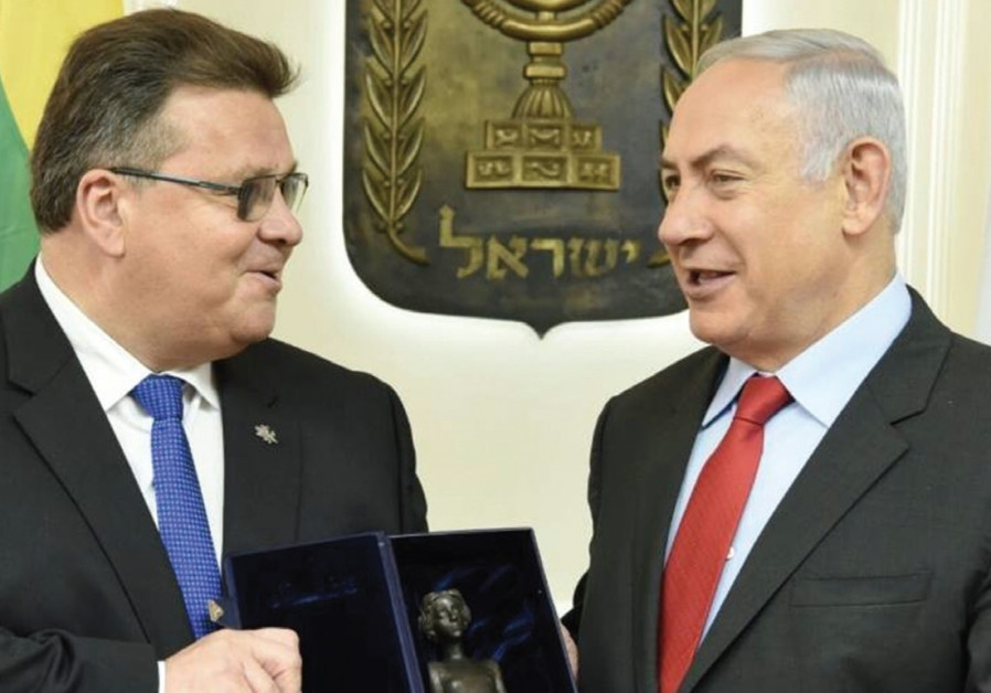 Lithuanian FM: 'Holocaust memory is important, but ties with Israel are the future'