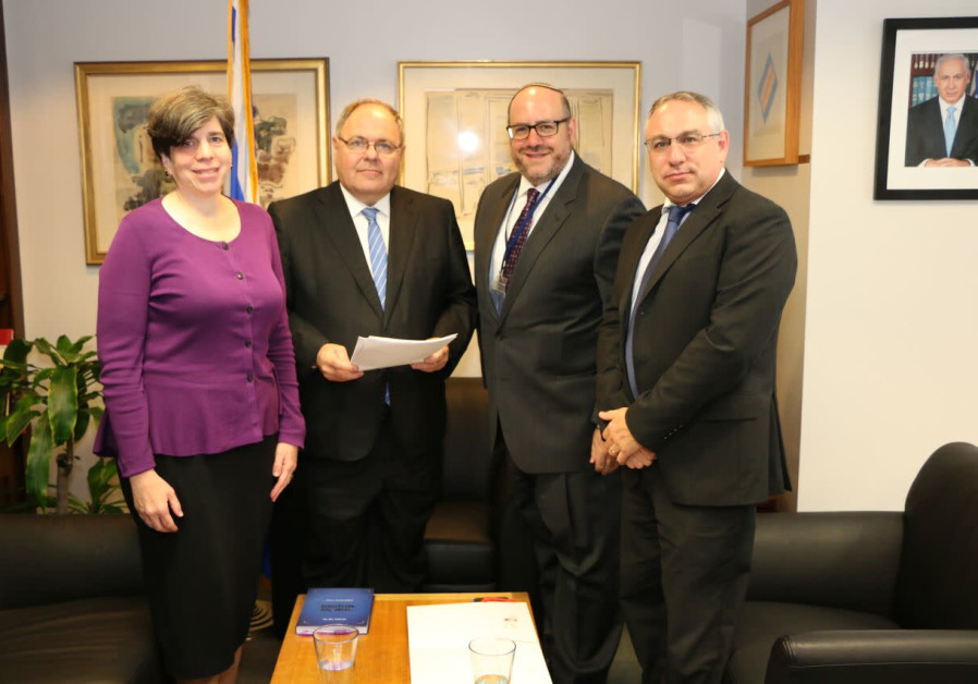 Rabbi Steven Wernick, CEO of USCJ (The United Synagogue of Conservative Judaism) and Rabbi Julie Sch