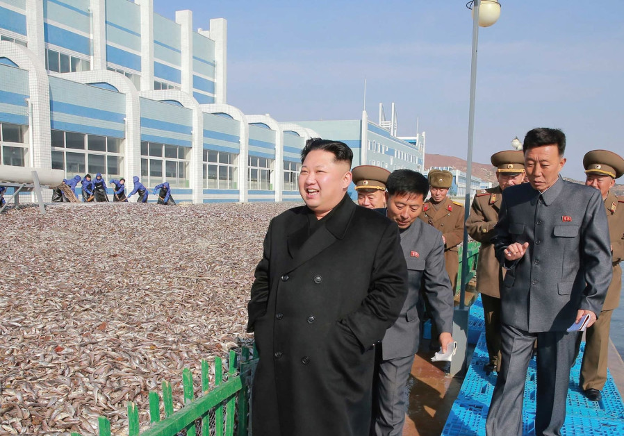 North Korea fishery stations