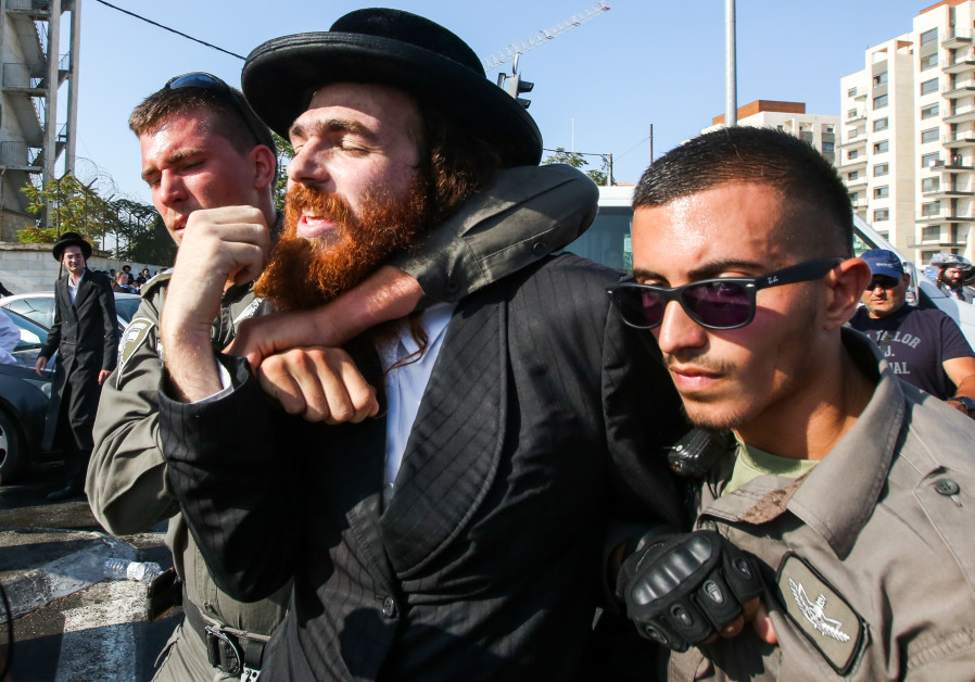 Investigation launched into police misconduct at violent haredi protest