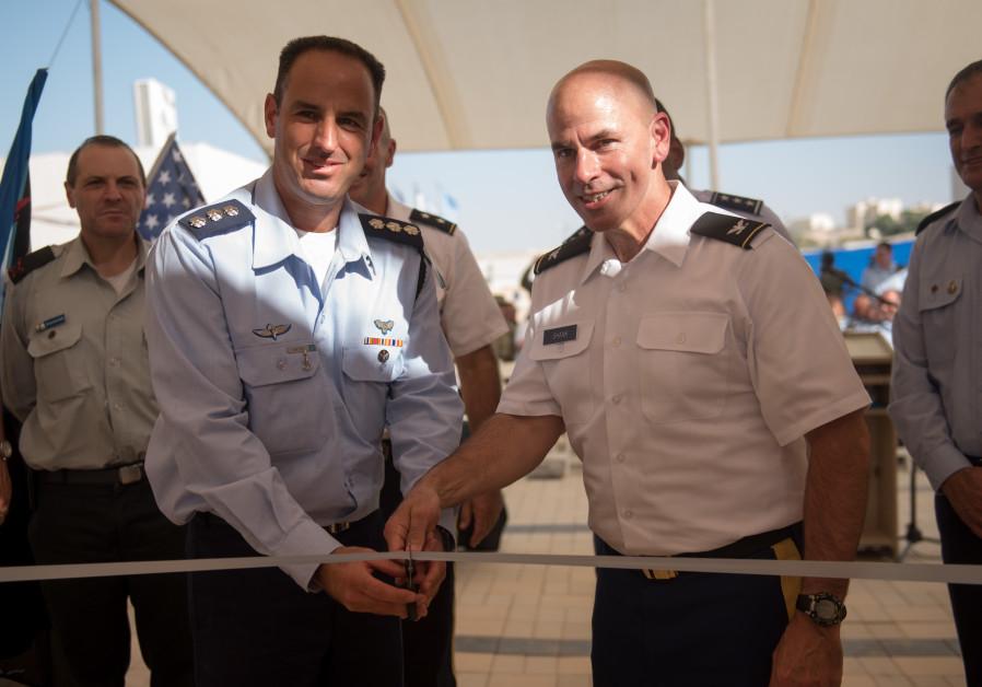 Image result for Israel, US inaugurate 1st American base on Israeli soil