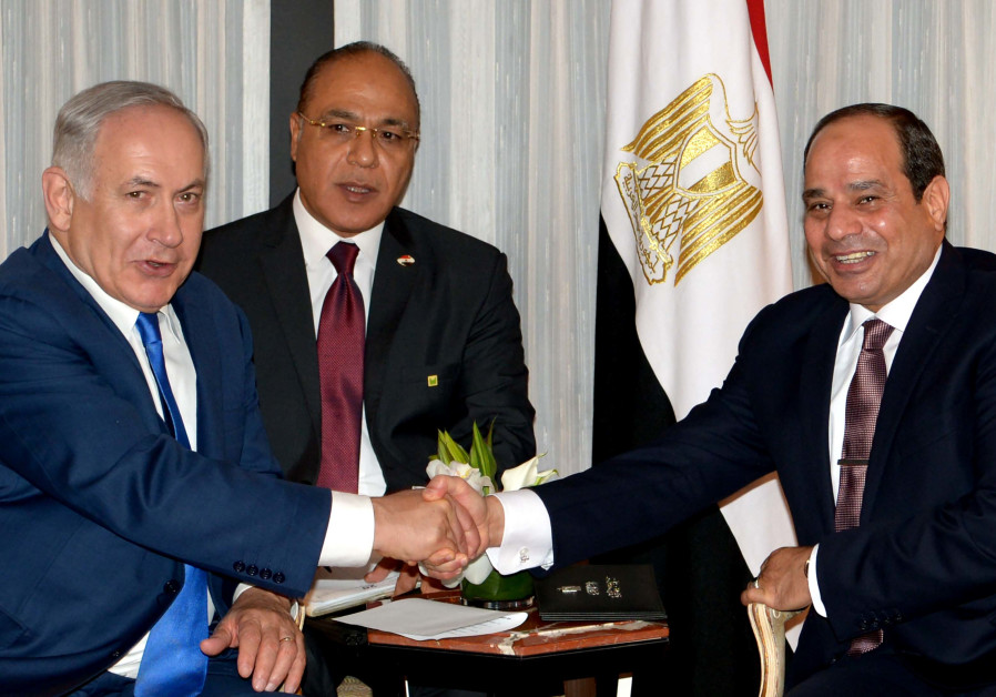 Egypt says Sisi met Israel PM at United Nations  for first public talks