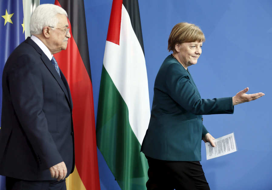One-Sided Story: Merkel's Cabinet Meets Predominantly Anti-Israel NGOs