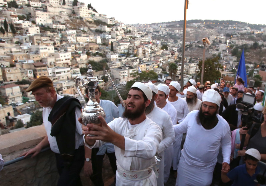 Activists practice ritual closer to Temple Mount than ever before