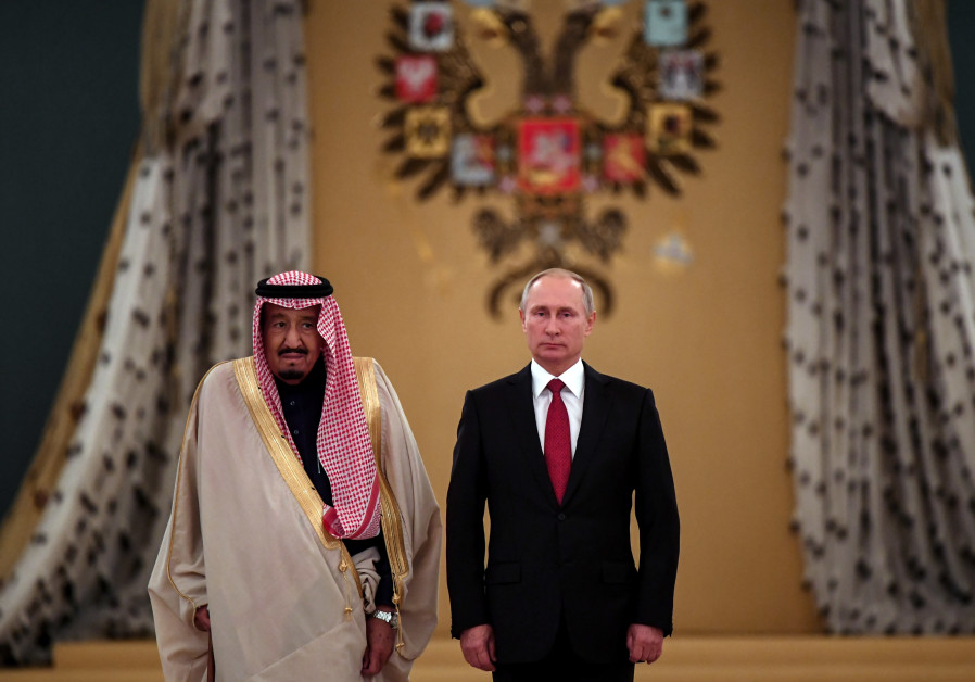 Russia, Saudi Arabia cement new friendship with king's visit
