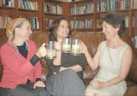 Three Ladies, Three Lattes