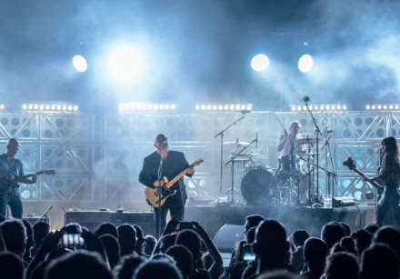 THE PIXIES show local fans that they transcend age, era and trend as they perform at Caesarea Amphit