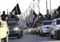 ISLAMIC STATE holds a parade in Raqqa, their capital, in June, 2014. Two years later, what has becom