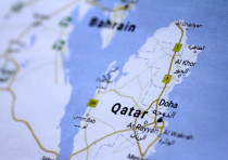 A map of Qatar is seen in this picture illustration June 5, 2017