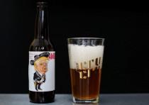 donald trump beer swastika