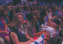 ATTENDEES OF THE annual Christians United for Israel (CUFI) Summit in Washington DC.