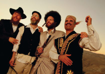 Middle Eastern and Hassidic music