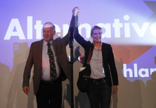 Alice Weidel and Alexander Gauland, of the anti-immigration party Alternative fuer Deutschland (AfD)