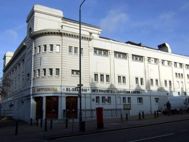 The Golders Green Hippodrome (Wikimedia Commons)